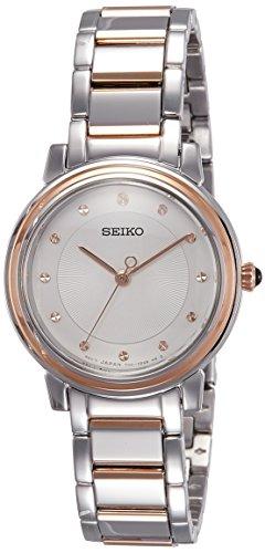 セイコー 腕時計 レディース SRZ480P1 Seiko Women's 29mm Two Tone Steel Bracelet Steel Case Hardlex Crystal Quartz White Dial Watch SRZ480P1セイコー 腕時計 レディース SRZ480P1