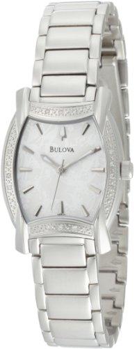 ブローバ 腕時計 レディース 96R135 Bulova Women's 96R135 Diamond Case White Dial Bracelet Watchブローバ 腕時計 レディース 96R135