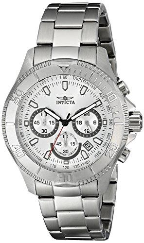 インヴィクタ インビクタ プロダイバー 腕時計 メンズ 17361 【送料無料】Invicta Men's 17361 Pro Diver Analog Display Japanese Quartz Silver Watchインヴィクタ インビクタ プロダイバー 腕時計 メンズ 17361