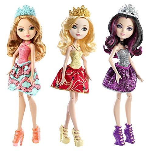 エバーアフターハイ 人形 ドール 【送料無料】Ever After High Doll Set of 3 - Apple White, Raven Queen & Ashlynn Ellaエバーアフターハイ 人形 ドール