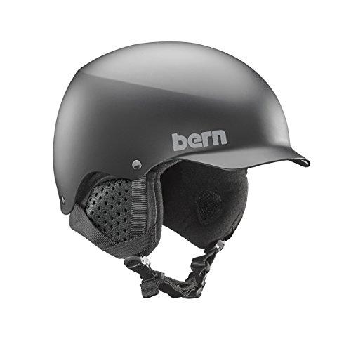 スノーボード ウィンタースポーツ 海外モデル ヨーロッパモデル アメリカモデル SM04E17MBK1 Bern Baker Snow Helmet (Matte Black with Black Liner, Small)スノーボード ウィンタースポーツ 海外モデル ヨーロッパモデル アメリカモデル SM04E17MBK1