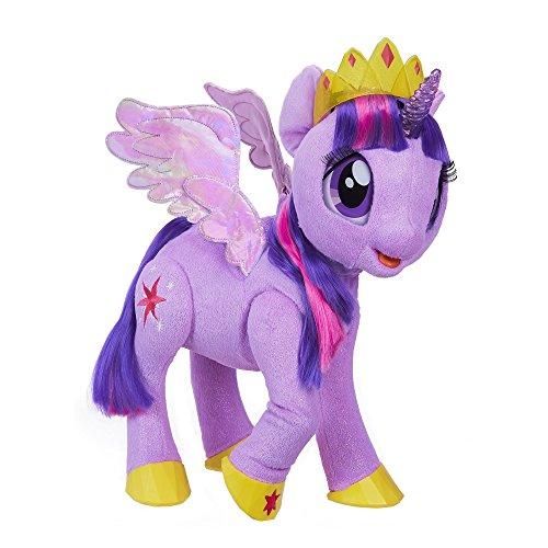 マイリトルポニー ハズブロ hasbro、おしゃれなポニー かわいいポニー ゆめかわいい C0299 My Little Pony Movie Toy: Magical Princess Twilight Sparkle Interactive Plush - マイリトルポニー ハズブロ hasbro、おしゃれなポニー かわいいポニー ゆめかわいい C0299