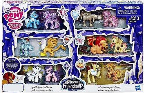 マイリトルポニー ハズブロ hasbro、おしゃれなポニー かわいいポニー ゆめかわいい My Little Pony, Elements of Friendship Exclusive Mini Pony 12-Packマイリトルポニー ハズブロ hasbro、おしゃれなポニー かわいいポニー ゆめかわいい