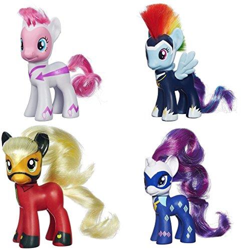マイリトルポニー ハズブロ hasbro、おしゃれなポニー かわいいポニー ゆめかわいい 【送料無料】My Little Pony Power Ponies Fili-Second Pinkie Pie, Zapp Rainbow Dash Mistマイリトルポニー ハズブロ hasbro、おしゃれなポニー かわいいポニー ゆめかわいい
