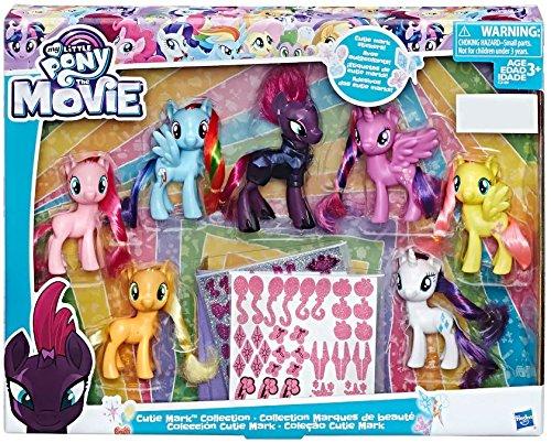 マイリトルポニー ハズブロ hasbro、おしゃれなポニー かわいいポニー ゆめかわいい 【送料無料】My Little Pony The Movie Exclusive Cutie Mark Collectionマイリトルポニー ハズブロ hasbro、おしゃれなポニー かわいいポニー ゆめかわいい