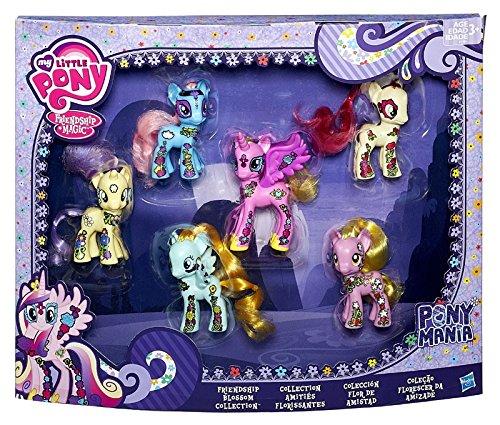 マイリトルポニー ハズブロ hasbro、おしゃれなポニー かわいいポニー ゆめかわいい My Little Pony Friendship is Magic Friendship Blossom Collection Exclusive 3