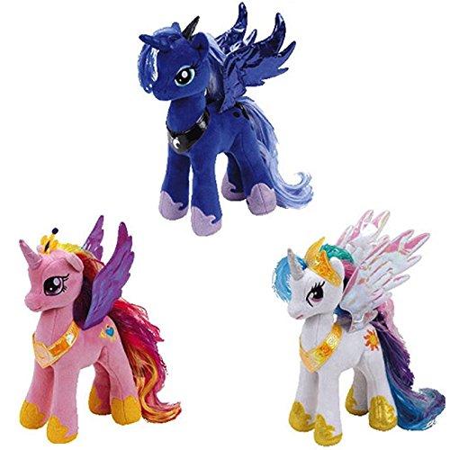 マイリトルポニー ハズブロ hasbro、おしゃれなポニー かわいいポニー ゆめかわいい 【送料無料】My Little Pony Ty Princess Celestia, Cadance, and Luna Setマイリトルポニー ハズブロ hasbro、おしゃれなポニー かわいいポニー ゆめかわいい