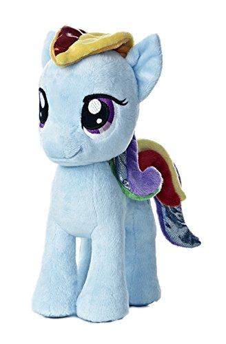 マイリトルポニー ハズブロ hasbro、おしゃれなポニー かわいいポニー ゆめかわいい 15513 【送料無料】Aurora World My Little Pony Rainbow Dash Pony Plush, 10