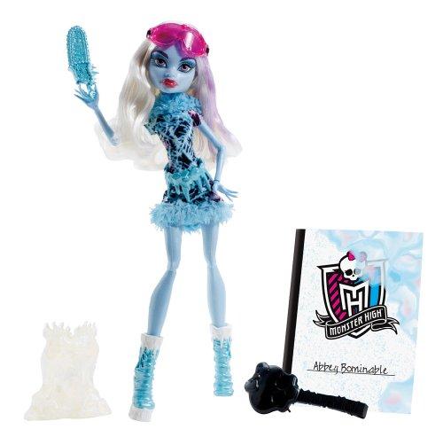 モンスターハイ 人形 ドール BDF13 【送料無料】Monster High Art Class Abbey Bominable Dollモンスターハイ 人形 ドール BDF13