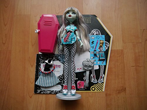 モンスターハイ 人形 ドール Y4686 【送料無料】Monster High Frankie Stein Doll Home Ick Playsetモンスターハイ 人形 ドール Y4686
