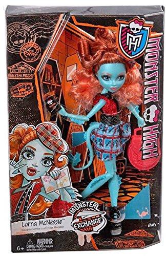 モンスターハイ 人形 ドール CDC36 【送料無料】Monster High Monster Exchange Program Lorna McNessie Doll Daughter Of Loch Nessモンスターハイ 人形 ドール CDC36