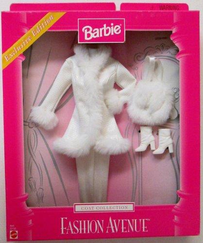 バービー バービー人形 着せ替え 衣装 ドレス Barbie Exclusive Fashion Avenue White Coat with Fur Like Trim (1999)バービー バービー人形 着せ替え 衣装 ドレス