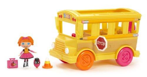ララループシー 人形 ドール Mini Lalaloopsy Bea's School Bus by Mini Lalaloopsyララループシー 人形 ドール