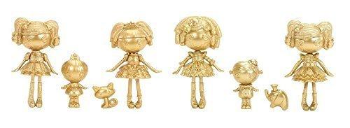 ララループシー 人形 ドール Mini Gold Lalaloopsy Bundle- Limited Edition Includes 6 Dolls, Elephant, and Catララループシー 人形 ドール