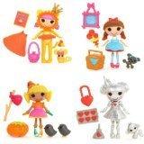 ララループシー 人形 ドール Lalaloopsy Set of 4 Wizard of Oz Mini Dolls: Baley Sticks N. Straws, Tinny Tinker, Kitty B Brave, Dotty Gale Winds by Lalaloopsyララループシー 人形 ドール