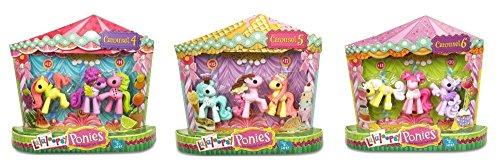 ララループシー 人形 ドール Lalaloopsy Ponies Carousel Bundle Fruit, Ice-Cream & Cup Cake Setsララループシー 人形 ドール