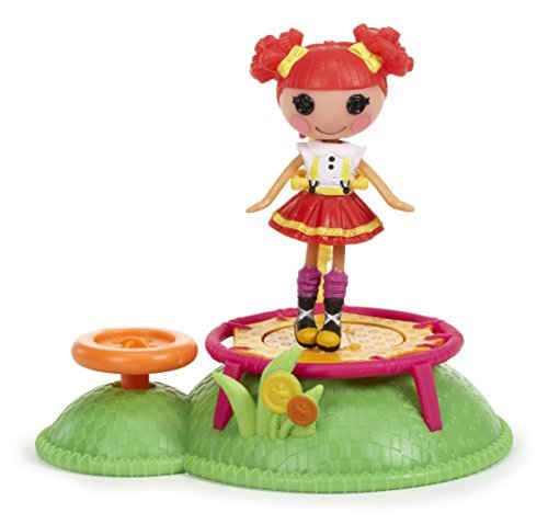 ララループシー 人形 ドール Mini Lalaloopsy Doll Ready Set Play -! Trampoline Mini Rararupushi [parallel import goods]ララループシー 人形 ドール