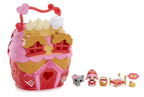 ララループシー 人形 ドール Lalaloopsy Tinies Scarlet's House Play 'n' Go 7 Piece Playset including Exclusive Character Tiny Scarlet Riding Hood, Series 5ララループシー 人形 ドール