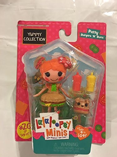 ララループシー 人形 ドール Lalaloopsy Minis Yummy Collection -Patty Burgers 'N' Bunsララループシー 人形 ドール