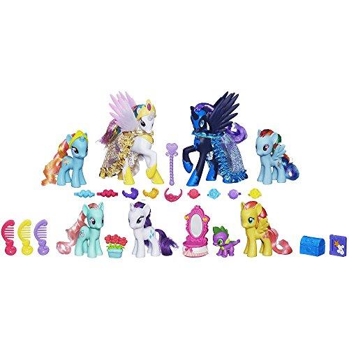 マイリトルポニー ハズブロ hasbro、おしゃれなポニー かわいいポニー ゆめかわいい My Little Pony Friendship is Magic: Midnight in Canterlot Collection Doll Set 2016 Releaseマイリトルポニー ハズブロ hasbro、おしゃれなポニー かわいいポニー ゆめかわいい
