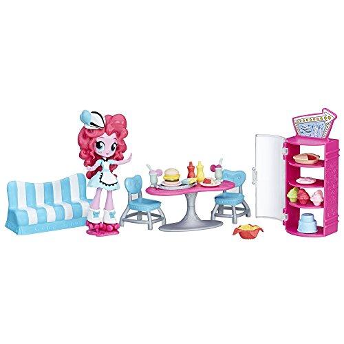 マイリトルポニー ハズブロ hasbro、おしゃれなポニー かわいいポニー ゆめかわいい B9485 【送料無料】My Little Pony Equestria Girls Pinkie Pie Sweet Snacks Caf?マイリトルポニー ハズブロ hasbro、おしゃれなポニー かわいいポニー ゆめかわいい B9485