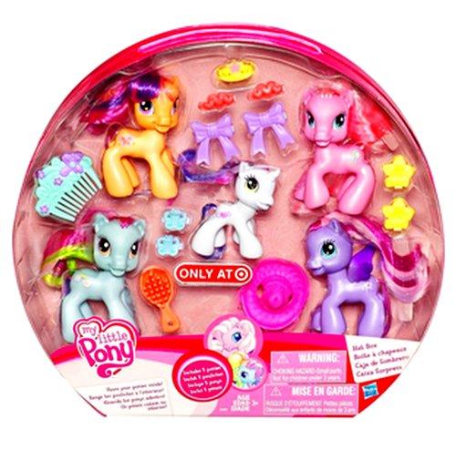 マイリトルポニー ハズブロ hasbro、おしゃれなポニー かわいいポニー ゆめかわいい My Little Pony Hat Box with Figuresマイリトルポニー ハズブロ hasbro、おしゃれなポニー かわいいポニー ゆめかわいい