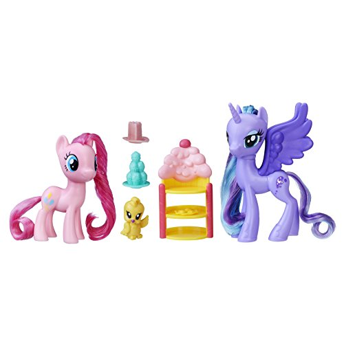 マイリトルポニー ハズブロ hasbro、おしゃれなポニー かわいいポニー ゆめかわいい C2492AS0 【送料無料】My Little Pony Princess Luna & Pinkie Pie Sweet Celebratマイリトルポニー ハズブロ hasbro、おしゃれなポニー かわいいポニー ゆめかわいい C2492AS0