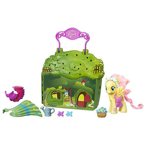 マイリトルポニー ハズブロ hasbro、おしゃれなポニー かわいいポニー ゆめかわいい C1914 My Little Pony Friendship is Magic Fluttershy Cottage Playsetマイリトルポニー ハズブロ hasbro、おしゃれなポニー かわいいポニー ゆめかわいい C1914