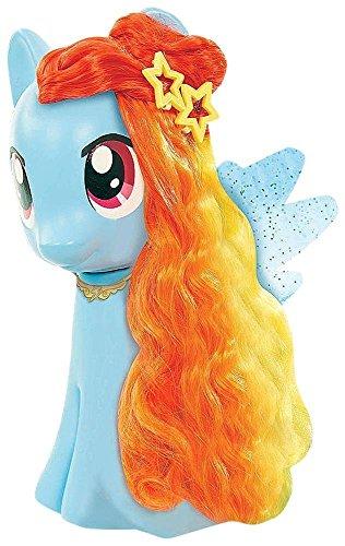 マイリトルポニー ハズブロ hasbro、おしゃれなポニー かわいいポニー ゆめかわいい 【送料無料】My Little Pony Rainbow Dash Styling Headマイリトルポニー ハズブロ hasbro、おしゃれなポニー かわいいポニー ゆめかわいい