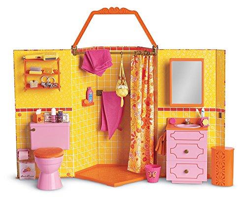 アメリカンガールドール 赤ちゃん おままごと ベビー人形 【送料無料】American Girl Julie's Groovy Bathroomアメリカンガールドール 赤ちゃん おままごと ベビー人形