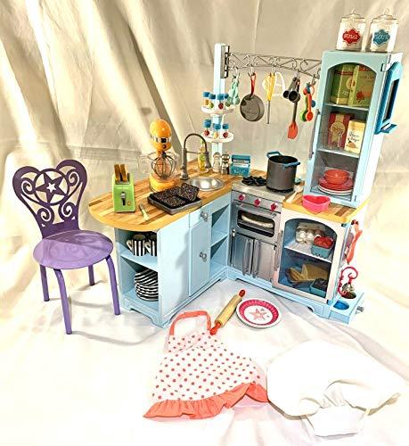 アメリカンガールドール 赤ちゃん おままごと ベビー人形 【送料無料】American Girl Gourmet Kitchen Setアメリカンガールドール 赤ちゃん おままごと ベビー人形
