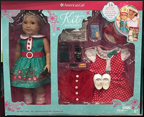 アメリカンガールドール 赤ちゃん おままごと ベビー人形 【送料無料】American Girl Kit Kittredge- 1 Doll with two outfits and Accessoriesアメリカンガールドール 赤ちゃん おままごと ベビー人形