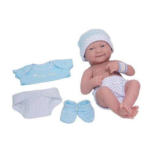 【ついに再販開始!】 ジェーシートイズ 赤ちゃん おままごと ベビー人形 In 18551 Layette My JC Toys La Newborn My Cupcake Layette Doll In Blue 14
