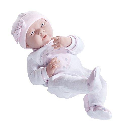 値引きする ジェーシートイズ 赤ちゃん おままごと ベビー人形 18055 Designed JC おままごと Toys La Newborn Doll in Pink Heart Pajamas. Realistic 15