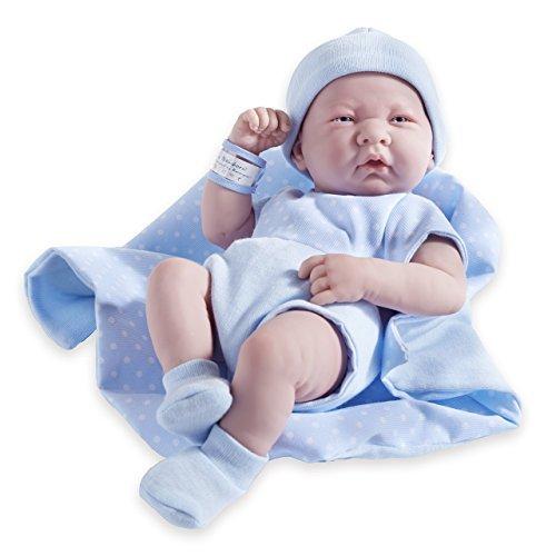 ジェーシートイズ 赤ちゃん おままごと ベビー人形 【送料無料】JC Toys Berenguer Boutique La Newborn 14-Inch Life-Like Real Boy Doll 9 Piece Gift Set, Blue by JC Toysジェーシートイズ 赤ちゃん おままごと ベビー人形