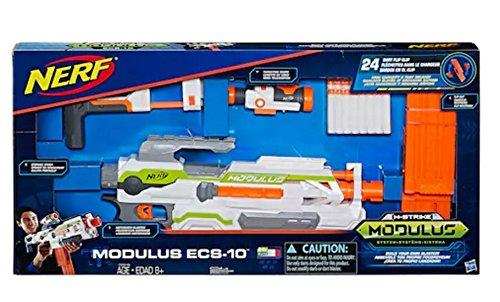ナーフ モジュラス エヌストライクエリート シューティング アメリカ Nerf Modulus ECS-10 Blaster by Hasbro with 24 Dart Flip Clipナーフ モジュラス エヌストライクエリート シューティング アメリカ