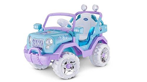 アナと雪の女王 アナ雪 ディズニープリンセス フローズン KT1205 Disney Frozen 4X4 Jeep 6V KT1205 Ride On, Blueアナと雪の女王 アナ雪 ディズニープリンセス フローズン KT1205
