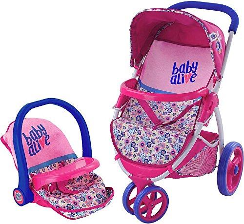 ベビーアライブ 赤ちゃん おままごと ベビー人形 Baby Alive Doll Travel Stroller Systemベビーアライブ 赤ちゃん おままごと ベビー人形