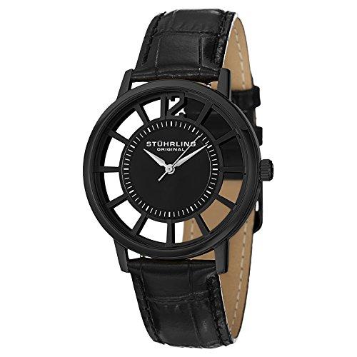 腕時計 ストゥーリングオリジナル メンズ 388S.33551 【送料無料】Stuhrling Original Men's 388S.33551 Winchester Swiss Quartz Transparent Watch with Additional Strap腕時計 ストゥーリングオリジナル メンズ 388S.33551