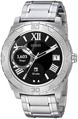 ゲス GUESS 腕時計 メンズ C1001G4 【送料無料】GUESS Men's Stainless Steel Android Wear Touch Screen Bracelet Watch, Color: Silver-Tone (Model: C1001G4)ゲス GUESS 腕時計 メンズ C1001G4