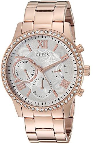 ゲス GUESS 腕時計 レディース U1069L3 【送料無料】GUESS Women's Stainless Steel Crystal Casual Watch, Color: Rose Gold-Tone (Model: U1069L3)ゲス GUESS 腕時計 レディース U1069L3