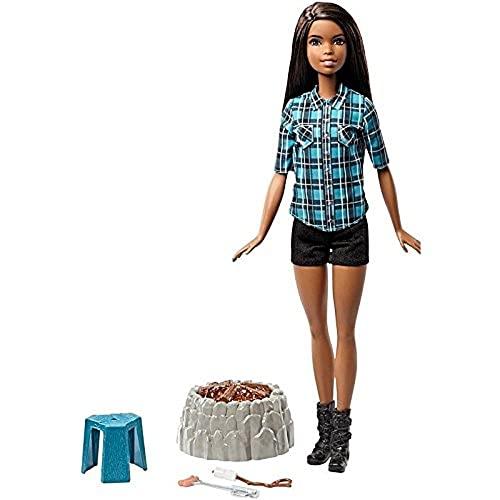 バービー バービー人形 日本未発売 FDB45 【送料無料】Barbie Camping Fun Doll, Brunetteバービー バービー人形 日本未発売 FDB45