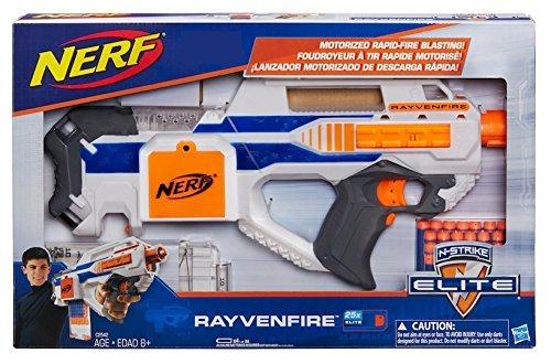 Nerf ナーフ エヌストライク エリート レイブンファイア RAYVENFIRE 電動ブラスター 米国Hasbro版 レイヴンファイア