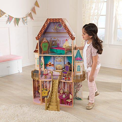 美女と野獣 ベル ビューティアンドザビースト ディズニープリンセス 65912 【送料無料】KidKraft Belle Enchanted Dollhouse美女と野獣 ベル ビューティアンドザビースト ディズニープリンセス 65912