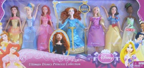 メリダとおそろしの森 メリダ ブレイブ ディズニープリンセス Disney ULTIMATE PRINCESS COLLECTION Set of 7 DOLLS w