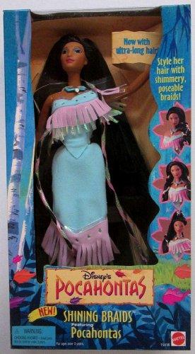 ポカホンタス ディズニープリンセス Disney's Pocahontas Shining Braids Doll by Mattelポカホンタス ディズニープリンセス