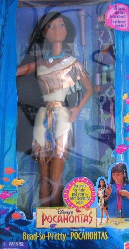 ポカホンタス ディズニープリンセス Disneys Bead-So-Pretty Pocahontas Doll by Mattelポカホンタス ディズニープリンセス