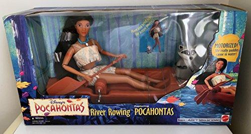 ポカホンタス ディズニープリンセス 【送料無料】Disney's River Rowing POCAHONTAS doll with Meekoポカホンタス ディズニープリンセス