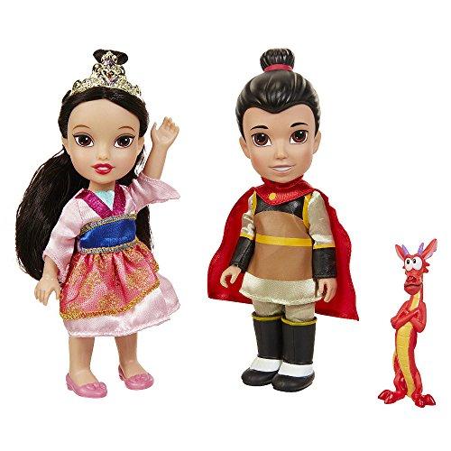 ムーラン 花木蘭 ディズニープリンセス Disney Princess Petite Mulan & Shang With Mushu Gift Setムーラン 花木蘭 ディズニープリンセス