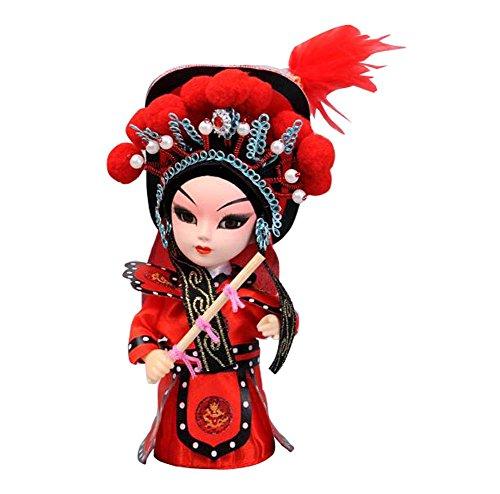 ムーラン 花木蘭 ディズニープリンセス DRAGON SONIC Chinese Style Peking Opera People Dolls Decorations-Hua Mulanムーラン 花木蘭 ディズニープリンセス